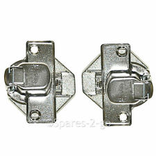 Door Hinge Pair for BEKO WMI61241 WMI71241 WMI71242 WMI71441 Washing Machine