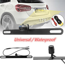 170° Car Parking Camera License Plate Rearview Kit NTSC Waterproof Night Vision