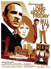 The Long Good Friday Bob Hoskins Movie Poster Limited Edition Silkscreen Imprimer