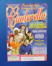 THEATRE FLYER CINDERELLA SIGNED BY TERENCE FRISCH