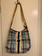 Tommy Hilfiger Handbag Women Crossbody Shoulder Bag Multicolored Plaid