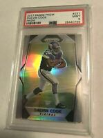 DALVIN COOK 2017 Panini Prizm RC ROOKIE CARD PSA 9 MINT HOT VIKINGS INVEST