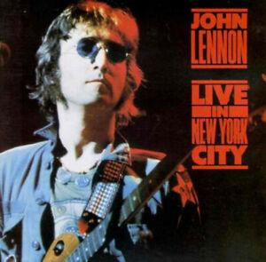 JOHN LENNON - LIVE IN NEW YORK CITY (RECORDED IN 1972) - CD ALBUM - FREE UK POST