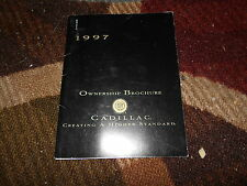 1997 CADILLAC ELDORADO SEVILLE DEVILLE FLEETWOOD OWNERSHIP BROCHURE OWNERS SUPPL