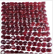 1700 CTS/223 PCS 100% NATURAL SUPREME RED TOP RUBIES WHOLESALE LOT 8MM-15MM