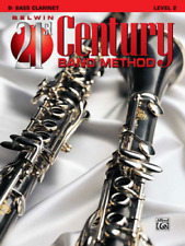 """BELWIN-21st CENTURY BAND METHOD LEVEL 2 """"BASS CLARINET"""" MUSIC BOOK-NEW ON SALE!"""