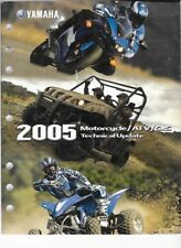 2005 Yamaha Motorcycle / Atv / S x S Technical Update Manual Lit-17500-00-05