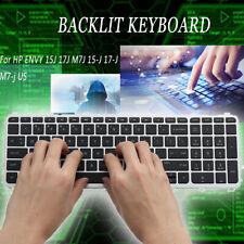 New listing New Hp Envy 15J 17J M7J 15-J 17-J M7-j Us Backlit Keyboard 720244-001 736685-001