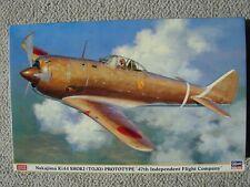 "Hasegawa 1/32 Nakajima Ki-44 Shoki (""Tojo"") Prototype"