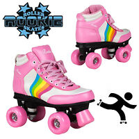 Rookie Forever Rainbow V2 Girls Womens Roller Skates Pink
