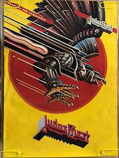 Judas Priest Original Vintage Poster 1984 Rock & Roll Music Memorabilia Pin Up