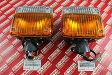 Toyota Land Cruiser FJ40 BJ40 OEM Genuine Front Turn Signal Lights Lamp LH & RH
