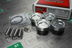 Manley Forged Platinum Series Pistons 88mm 9.5:1 Mazdaspeed3 MZR 2.3L 630005C-4