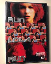 2005 Sealed Franka Potenke Run Lola Run Dvd movie original Brand New