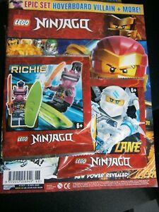 LEGO Ninjago Magazine Issue 68 With Hoverboard Villain + 1 Mini-figure 2020