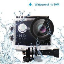 WiFi HD 1080P 170° Waterproof Sport DV Action Camera Camcorder PC Web Cam W9