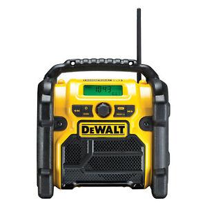 DeWALT Kompakt-Radio XR Li-Ion mit DAB+ DCR020 ohne Akku ohne Lader im Karton