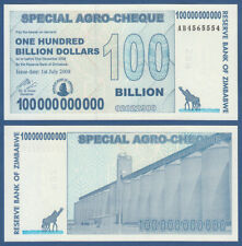 SIMBABWE / Zimbabwe  100 Billion Dollars 2008 UNC  P. 64