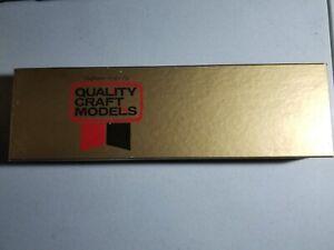 VINTAGE Quality Craft HO #319 Santa Fe Tri-Level Auto Rack Wood Kit--NOS