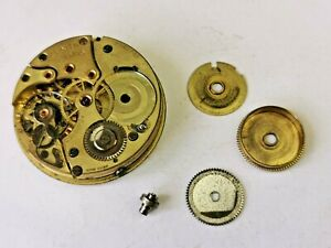 Quality Zenith 17 Jewels Pocket Watch Movement for Repair / Parts