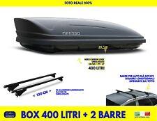 Box Baule Tetto Auto per BMW X3 F25 2010>2017 con Barre portatutto kit portapacc