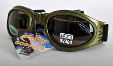 Sundog 80797 Skin Diver Goggles Green/Brown