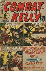 COMBAT KELLY #29 ATLAS COMICS 01/55 G+