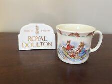 Royal Doulton 1936 BUNNYKINS ROWING BOAT Hug A Mug