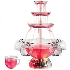 Tower Lighted Party Nostalgia LPF150 Vintage Collection Fountain Beverage Punch