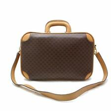 Authentic Celine Boston Bag  Browns Leather 242661