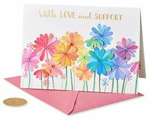 Papyrus Get Well Soon Card (Growing Flowers), multicolored, 1 (6811142)