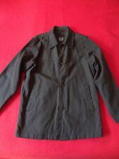 GAP Men's Vintage Long Rain Coat Black - S