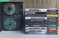 Lot Of 12 Nintendo GameCube Games