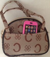 """Phone and Purse for American Girl Doll 18"""" Accessories SET Coach A"""