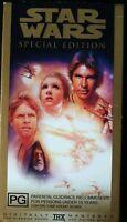 VHS Star Wars Special Edition THX PAL
