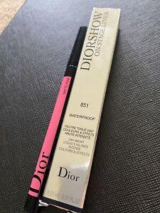 Dior Diorshow On Stage Liquid Eyeliner Waterproof 24H Wear 851  Matte Pink, New