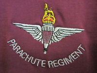 PARA T-SHIRT - Parachute Regiment Military T - Shirt in Olive Green or Maroon