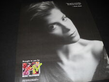 Paula Abdul says Remember.I'm Forever Your Girl 1990 Promo Poster Ad mint cond