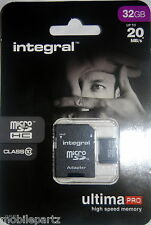 Integral 32GB Class10 MicroSD Phone Memory Card for Samsung Galaxy S2 S3 S4 S4