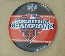 2012 SF San Francisco Giants WS World Series Champions button MLB