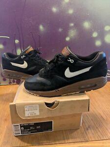 Nike Air Max 1 Premium 2012 Black Sail Hazelnut Size 7 not Atmos, safari, patta
