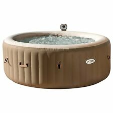 Intex - PureSpa Bubble Round 6 Person Hot Tub / Spa - FREE UK Mainland Delivery