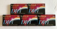 New Lot Of 5 Blank Audiocassette Tapes 90 Minutes Fuji Everyday Music Recordings