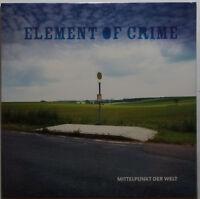 Element of Crime - Mittelpunkt der Welt LP NEU/SEALED vinyl