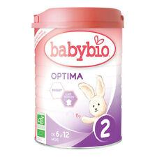 Babybio Optima 2 lait de suite Bio de 6 à 12 mois 900g