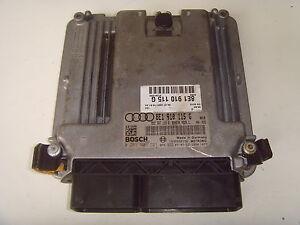 AUDI A4 ENGINE ECU 8E1910115G