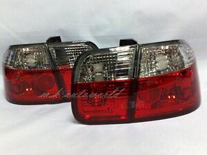 Crystal Tail Lights 4pcs for 1996-1998 Honda Civic EK3 EK4 Sedan