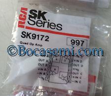 SK9172/997 IC-QUAD OP AMP RCA