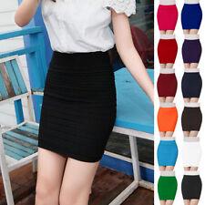 Short/Mini Cotton Blend Unbranded Regular Skirts for Women
