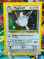 Pokemon WOTC Wigglytuff Base Set 2 Holo Rare Card - 19/130 LP